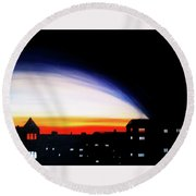Clarence Drive Round Beach Towel