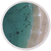 Clarity Round Beach Towel