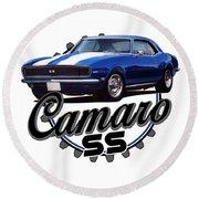 Classic Camaro Round Beach Towel