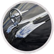 Classic Cars Beauty Of Design 20 Round Beach Towel
