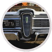 Classic Edsel Round Beach Towel