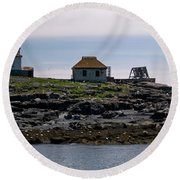 Classic Egg Rock Round Beach Towel