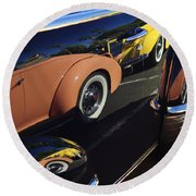 Classic Reflections Round Beach Towel