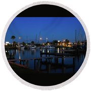 Clear Lake Shores,tx Round Beach Towel