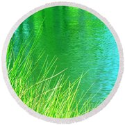 Clear Sighted Round Beach Towel