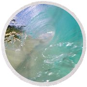 Clear Vision Round Beach Towel