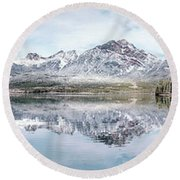 Clearlight Symphony Round Beach Towel