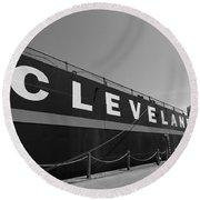 Cleveland Round Beach Towel