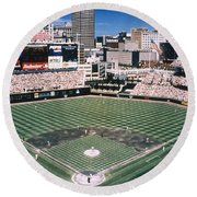 Cleveland: Jacobs Field Round Beach Towel