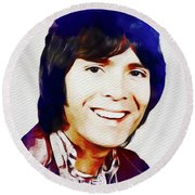 Cliff Richard, Music Legend Round Beach Towel