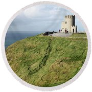 Cliffs Of Moher Round Beach Towel