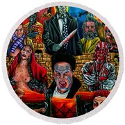 Clive Barker's Nightbreed Round Beach Towel