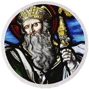 Clogheen, Ireland St. Patrick On Round Beach Towel