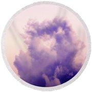 Cloud Nebula Round Beach Towel