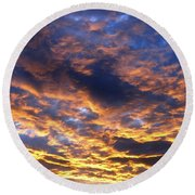 Cloud Nine 1 Round Beach Towel