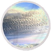 Cloud Nine 5 Round Beach Towel