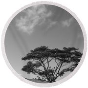Cloud Shadow Round Beach Towel