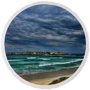 Cloud Spectacular Round Beach Towel