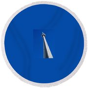Cn Tower Round Beach Towel