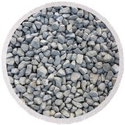 Coarse Gravel Round Beach Towel