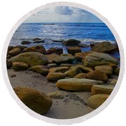 Coarse Sand Round Beach Towel