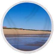 Coast Guard Beach Cape Cod National Round Beach Towel