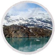 Coastal Beauty Of Alaska 5 Round Beach Towel