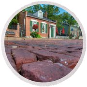Cobble Stone Round Beach Towel