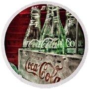 Coca Cola Vintage 1950s Round Beach Towel