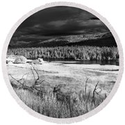 Cocolala Creek Round Beach Towel