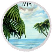 Coconut Cove Round Beach Towel
