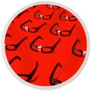 Code Red Developers Round Beach Towel