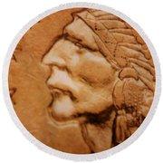Coin Collector Iv Round Beach Towel