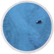 Cold Shoe Round Beach Towel