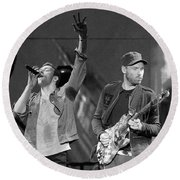 Coldplay 14 Round Beach Towel