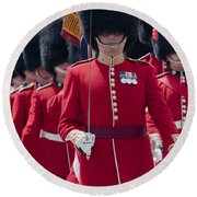 Coldstream Guards Round Beach Towel