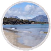 Coles Bay Round Beach Towel