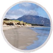 Coles Bay Serenty Round Beach Towel