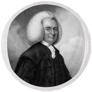 Colin Maclaurin, Scottish Mathematician Round Beach Towel