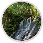 Colliery Falls Round Beach Towel