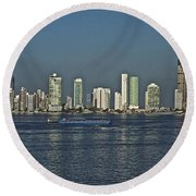 Colombia019 Round Beach Towel