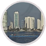 Colombia020 Round Beach Towel