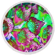 Color Dream Round Beach Towel