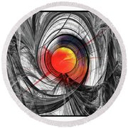 Color Expansion Round Beach Towel