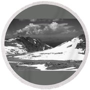 Colorado Mountians 1 Round Beach Towel