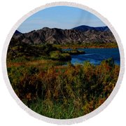 Colorado River Round Beach Towel