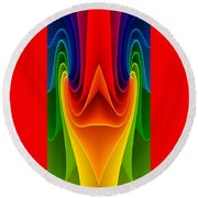 Colorful 3 Round Beach Towel