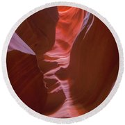 Colorful Canyons Round Beach Towel