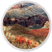 Colorful Grand Canyon Round Beach Towel