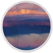 Colorful Journey Round Beach Towel